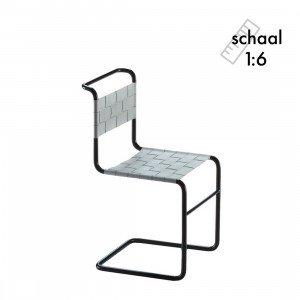 Vitra Stuhl W1 Miniatuur