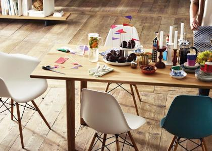 Eames Chair Campagne